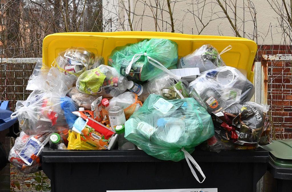 Abfallbilanz 2018: Fünf Fakten zu Müll in Baden-Württemberg -  Baden-Württemberg - Stuttgarter Nachrichten