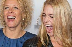 Wilde Hühner: Paula, die Tochter der Schauspielerin bKatja Riemann/b, tut es ihrer Mutter nach und steht vor der Kamera. In der deutschen Komödie Coming In sind beide zusammen zu sehen. Foto: dpa