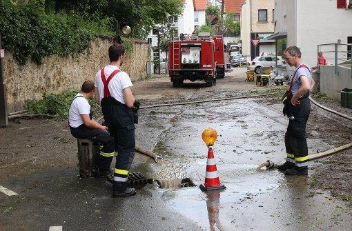 Feuerwehr ist weiter im Dauereinsatz