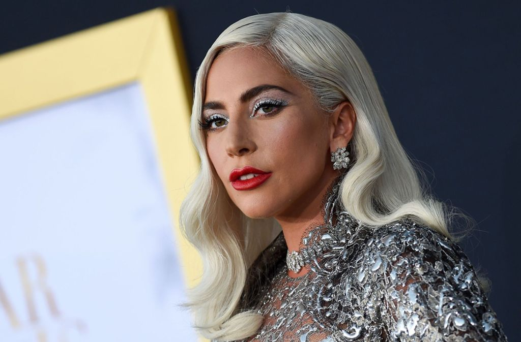 "Lady Gaga, hier bei der Premiere von ""A Star is born"". Foto: AFP"