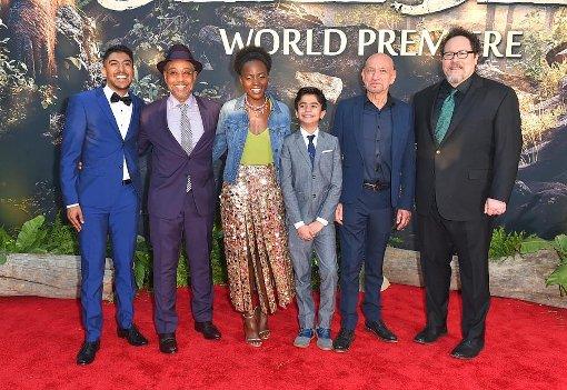 Filmpremiere Neuauflage vom Dschungelbuch im Kino