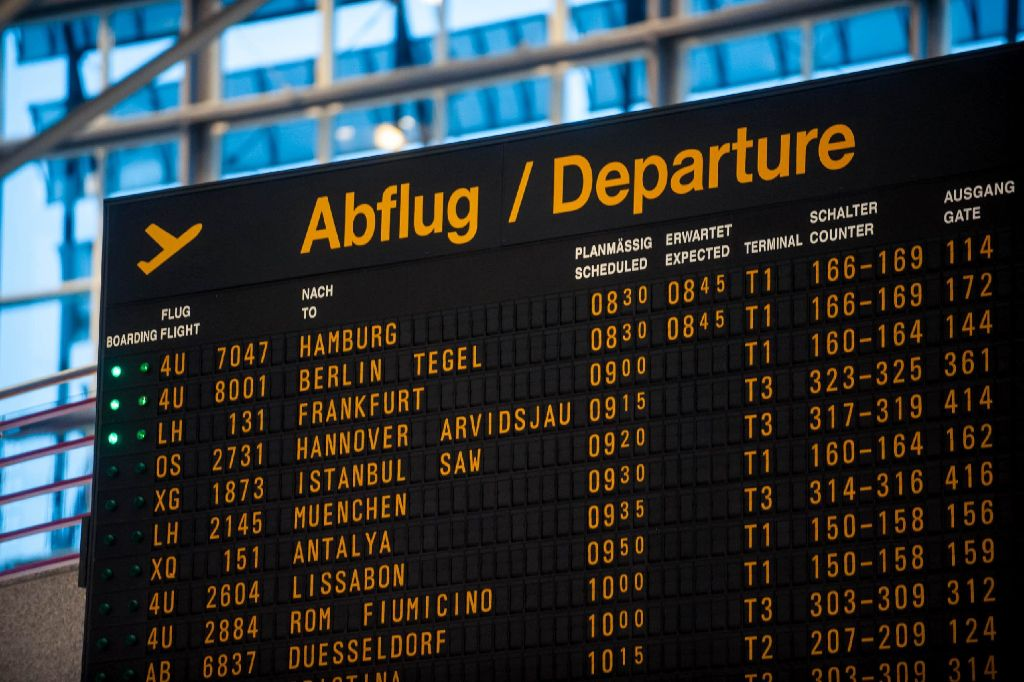 Istanbul Stuttgart Ankunft
