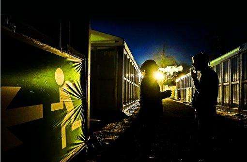 Im Herbst sind viele Flüchtlinge in die Zeltstadt im Reitstadion eingezogen. Jetzt wandelt sich die Unterkunft zum Quartier für Nordafrikaner Foto: Lichtgut/Max Kovalenko