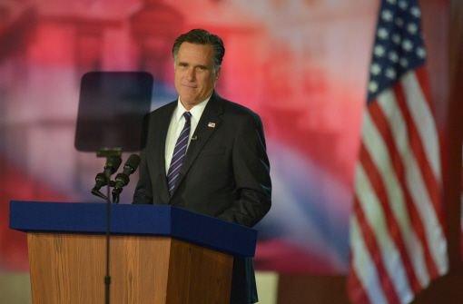 Wann kommt Romney?