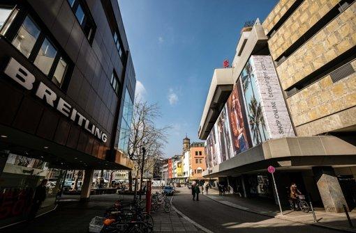 Die Markstraße soll wie die anschließende Münzstraße in einigen Jahren Fußgängerzone sein Foto: Lichtgut/Leif Piechowski