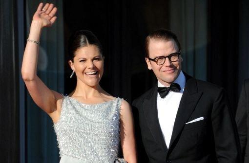 Die schwedische Kronprinzessin Victoria und ihr Mann, Prinz Daniel.  Foto: dpa