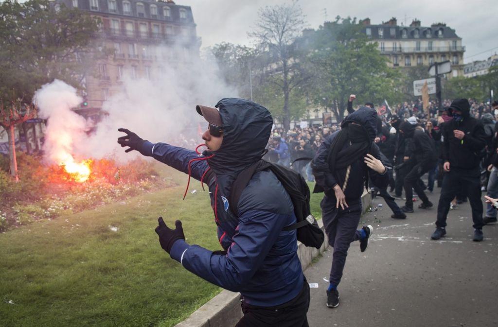 Frankreich Krawalle