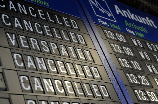 Flug von Stuttgart nach Istanbul gestrichen