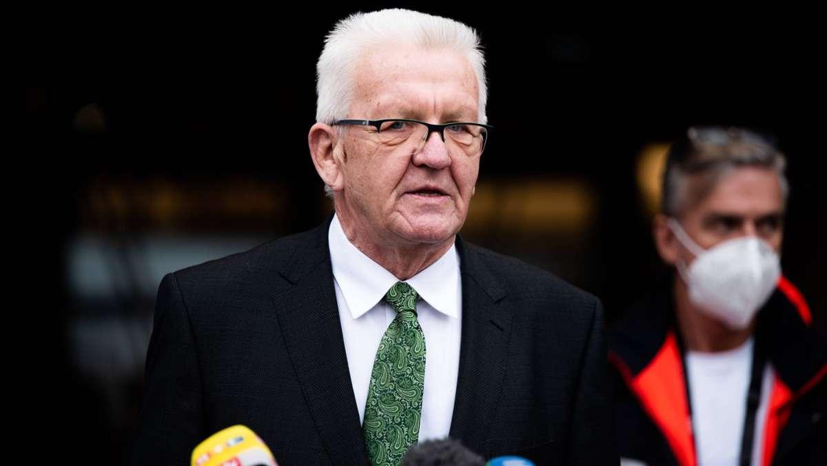 Gerlinde Kretschmann An Krebs Erkrankt Ministerprasident Kretschmann Sagt Wahlkampftermine Ab Baden Wurttemberg Stuttgarter Nachrichten