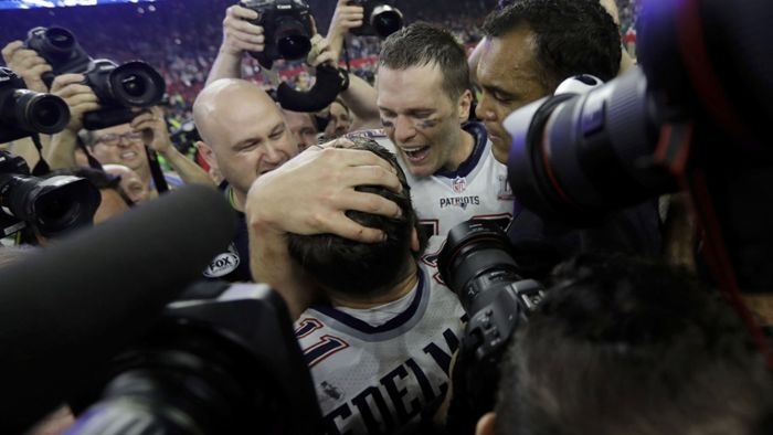 New England Patriots zum fünften Mal Super-Bowl-Champion
