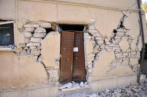 Viele Menschen sind nach Erdbeben obdachlos