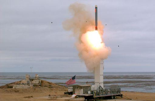 Raketentest Usa