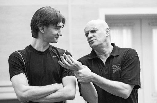 Jean Christophe Maillot (rechts), Vladislav Lantratov Foto: Logvinov