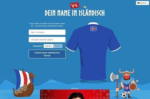 So würde Boateng auf Isländisch heißen