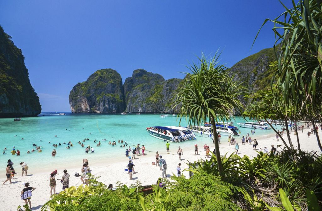 Ko Phi Phi In Thailand The Beach Bleibt Noch Lnger -9841