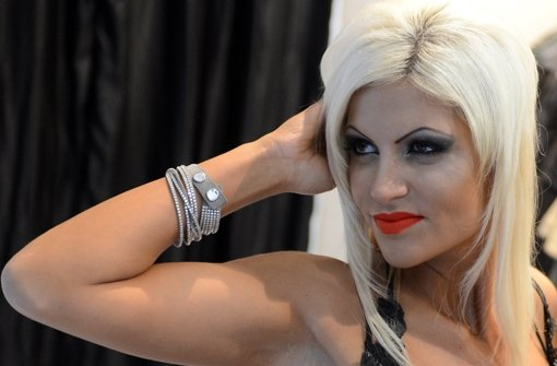 Model Sophia Wollersheim (28). Foto:  dpa
