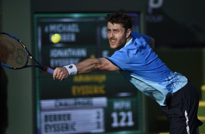 Tennis-Turnier in Indian Wells: Stuttgarter Berrer erreicht zweite Runde