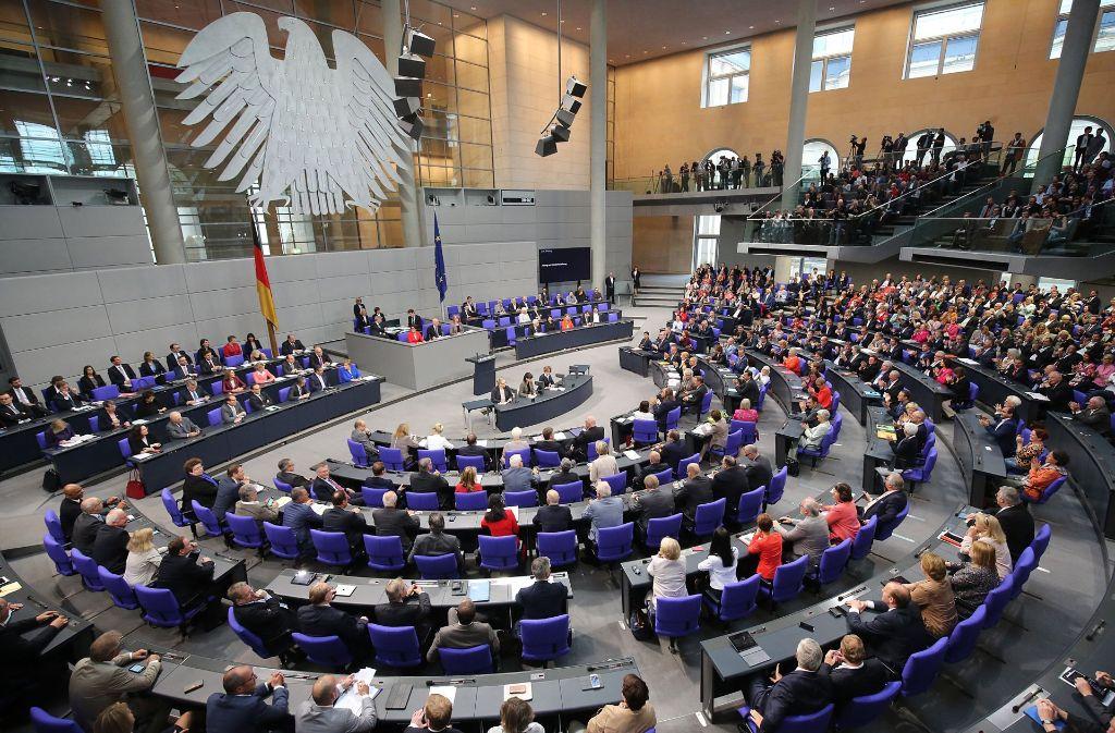 Wie Viele Bundestagsabgeordnete