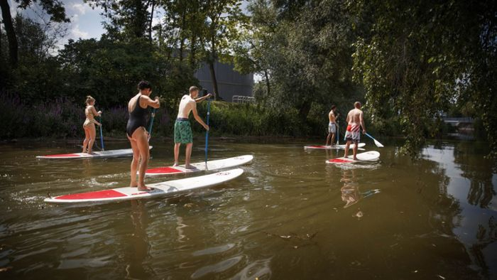 Stand-up-Paddling muss kein Reinfall sein