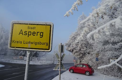 Warum in Asperg schon Schnee liegt