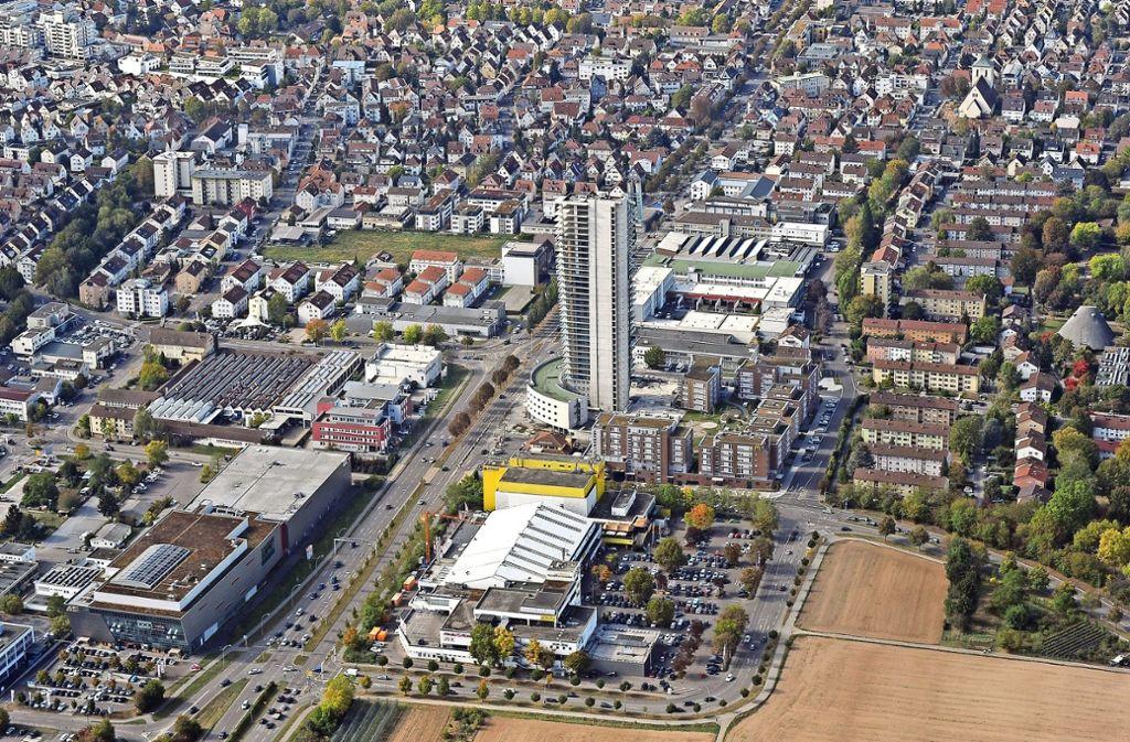 Untersuchung In Fellbach In Der Tower Zone Werden Parkplätze