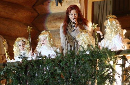 weihnachtszauber mit andrea berg vier engel und ein. Black Bedroom Furniture Sets. Home Design Ideas