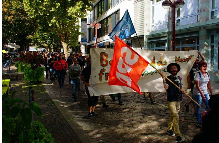 Marijuana March in Sindelfingen: Demonstranten fordern Cannabisfreigabe