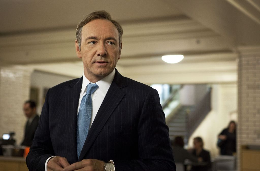 "Kevin Spacey als Frank Underwood in ""House of Cards"". Foto: Netflix"