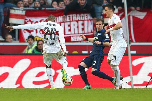 Der VfB gewinnt mit 2:0