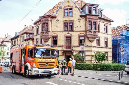 Bewohner vor Feuer gerettet