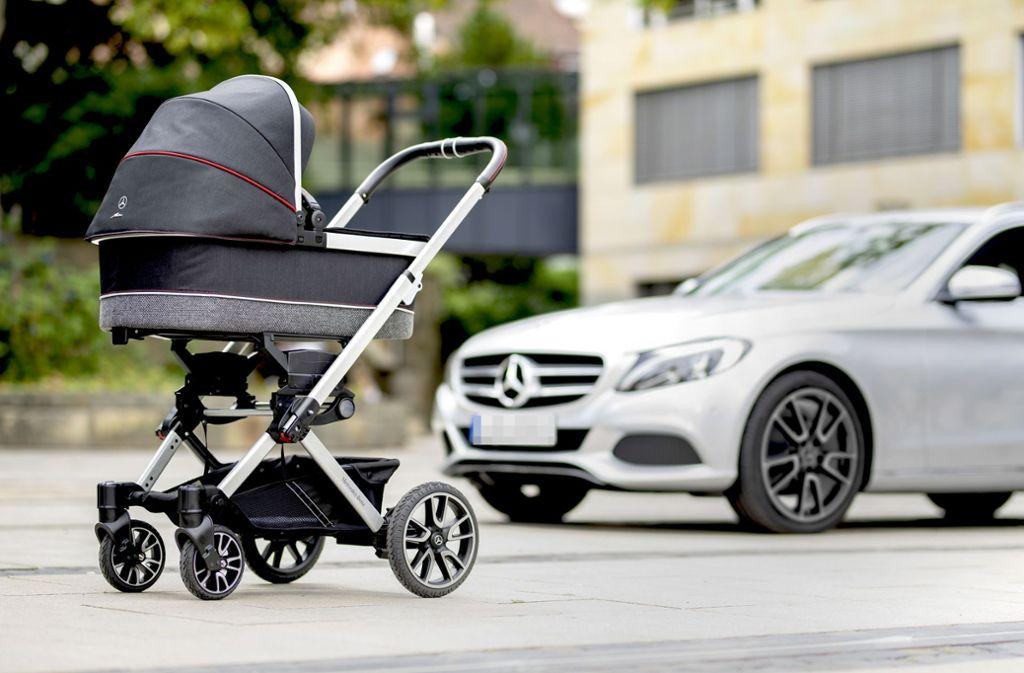 Kinderwagen Von Mercedes Nix Da Mit Tiefergelegt Panorama