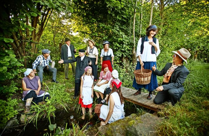 Open-Air-Theater in Aspach: Geschichten im Verborgenen