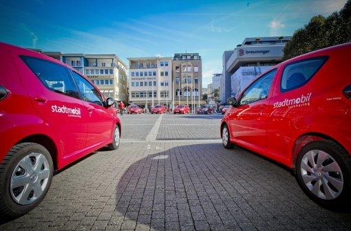 Der Carsharing-Dienstleister Stadtmobil vergrößert sein Angebot in Stuttgart Foto: Peter-Michael Petsch