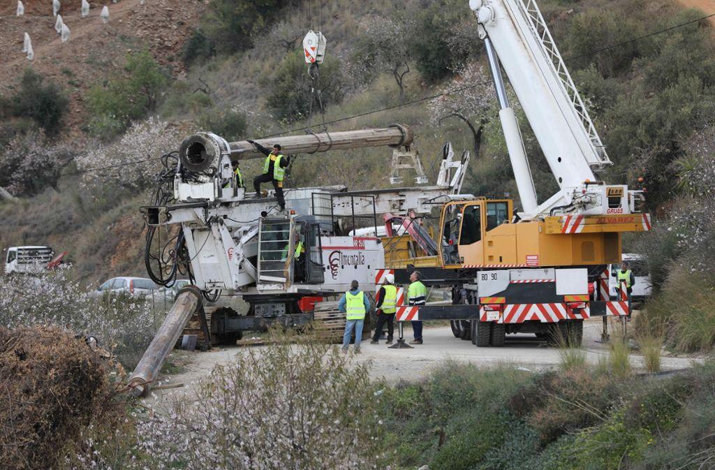 Drama um Kleinkind in Spanien: Rettungstunnel ist fertig