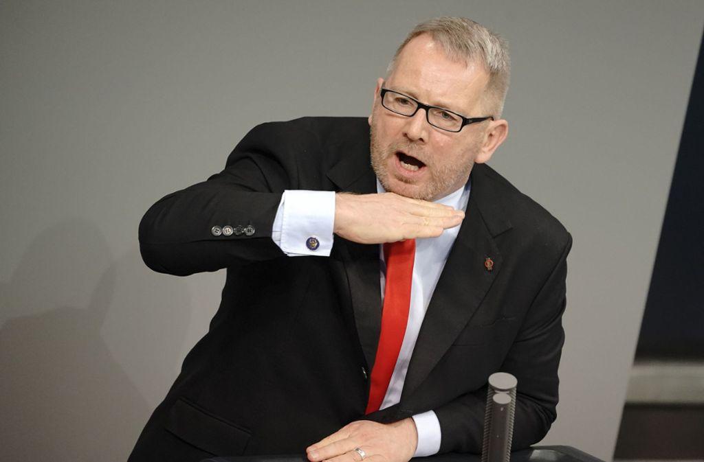 Johannes Kahrs Bundestag