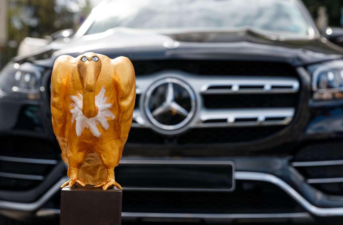 """Der Mercedes GLS 2020 mit dem """"Goldenen Geier"""