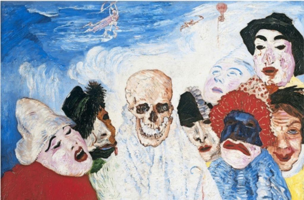 Basel feiert James Ensor: Die Revolution lauert im Salon - Kultur ...