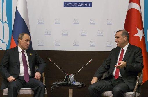 Putin und Erdogan wollen zum Telefonhörer greifen