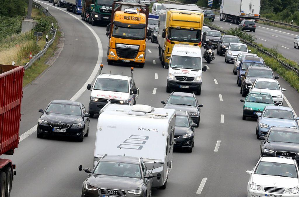 Verkehr Baden Württemberg Autobahn
