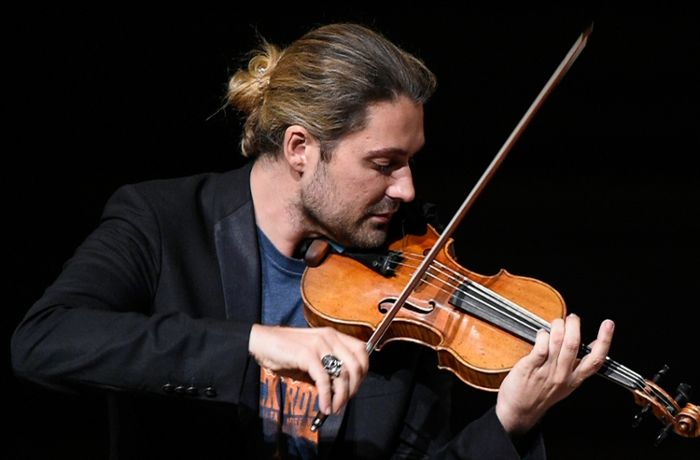 David Garrett in Stuttgart: Locker vom Hocker