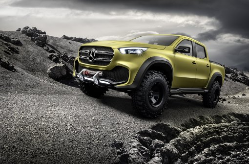 Daimler will Pionier bei den Pick-ups sein