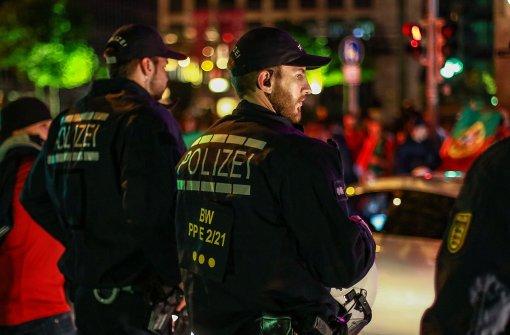 In Stuttgart ist mehr Polizei im Einsatz