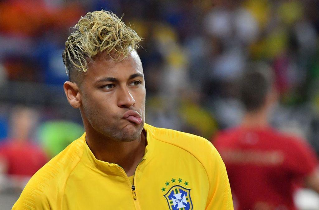 Neymar Haare