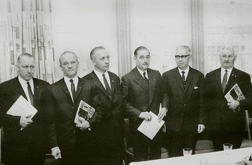 1965 haben deutsche und französische Veteranen die Partnerschaft unterzeichnet. Foto: z