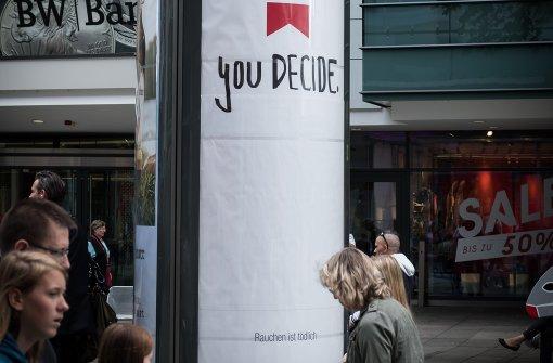 Tabakwerbeverbot kostet Stuttgart viel Geld