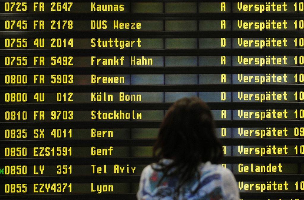 Warnstreiks In Berlin Lufthansa Muss Acht Verbindungen