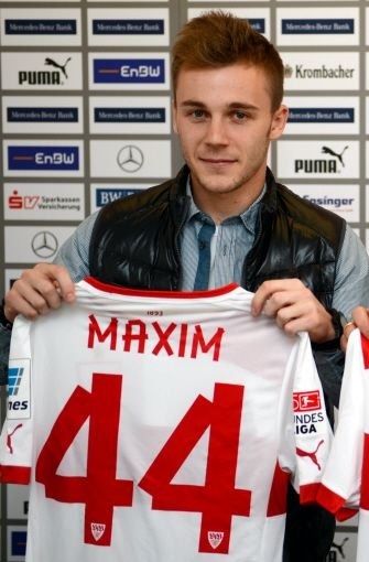 Der rumänische Nationalspieler Alexandru Maxim wechselt zum VfB Stuttgart. Der 22-Jährige kommt von Rumäniens Erstligist Pandurii Târgu Jiu. Foto: dpa