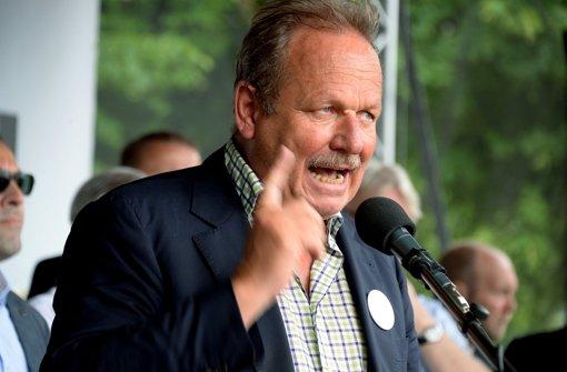 Verdi-Bundesvorsitzende Frank Bsirske geht mit klaren Forderungen in die Tarifverhandlungen Mitte März. (Archivfoto) Foto: dpa