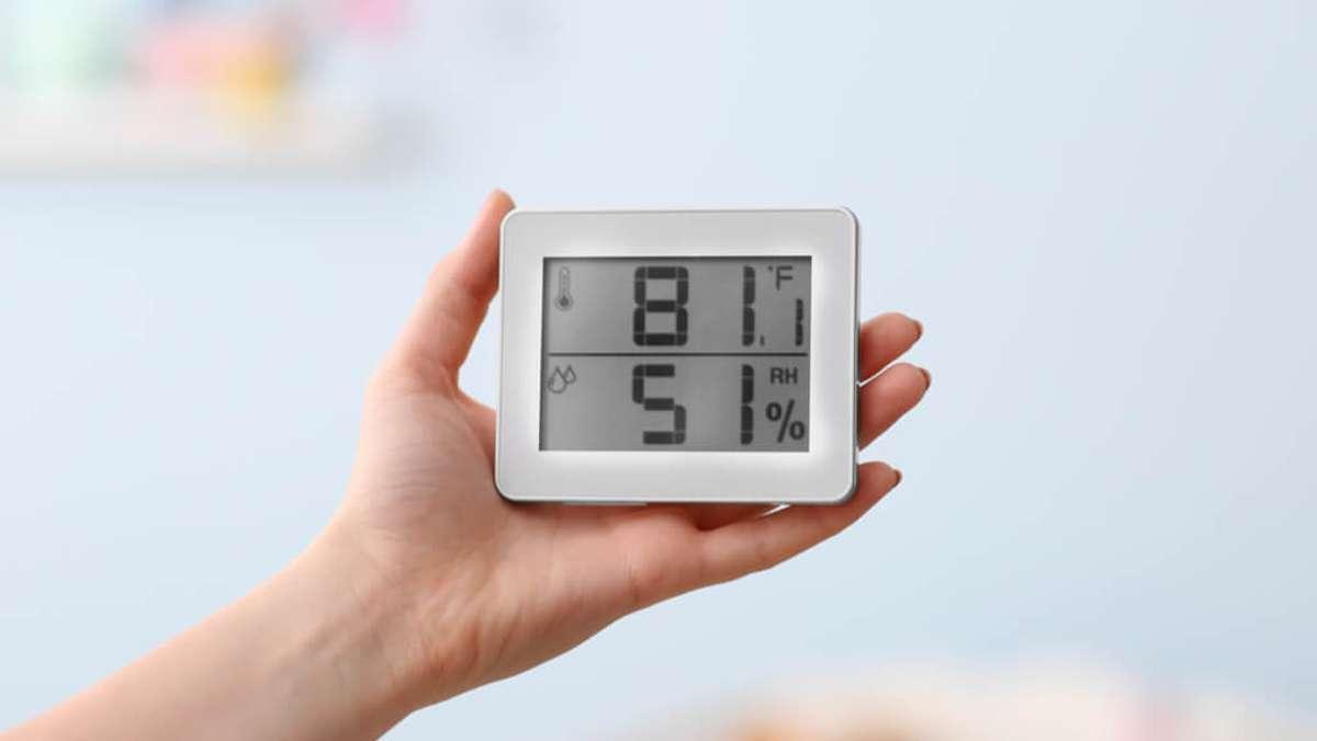 Die optimale Luftfeuchtigkeit in Räumen - Alle Werte im Überblick