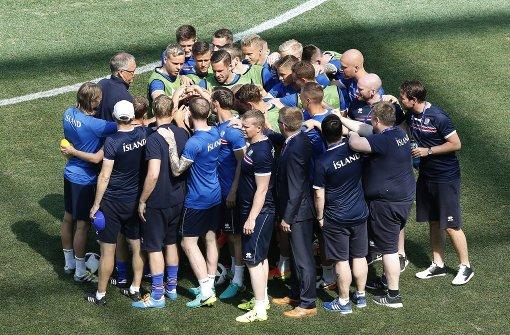 Liveticker zu England gegen Island